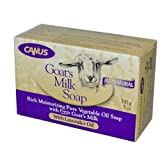 2 Packs of Nature By Canus Bar Soap - Goats Milk - Lavender Oil - 5 Oz