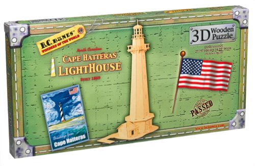 Cheap TOYSMITH 3D Cape Hatteras Lighthouse Small Wooden Puzzle (B0006HBSBW)