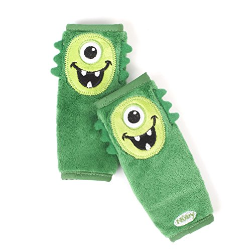 Nuby Monster Strap Covers, Green - 1