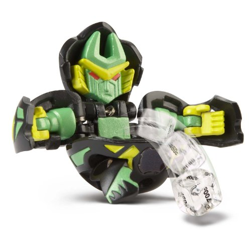 Bakugan Super Assault Bakuchance  (Colors Vary Between Green, Red, Gray, Brown and Black)