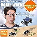STARDUST ソーラー ワールド 太陽光パネル 虫 ゴキブリ 蜘蛛 バッタ ビックリ おもしろ 玩具 動く (Bタイプ) SD-SOWASO-B