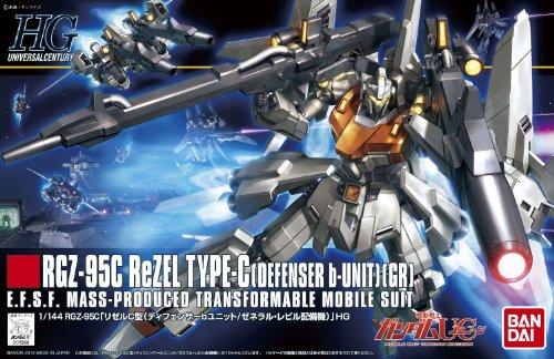 HGUC 1/144 RGZ-95 リゼル ディフェンサーbユニット (機動戦士ガンダムUC)