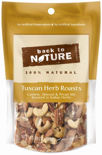 Back To Nature Tuscan Herb Roast Trail Mix, 10-Ounce Bags (Pack of 3) by Back to Nature