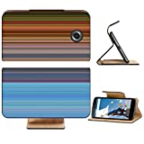 Liili Premium Motorola Google Nexus 6 Flip Pu Leather Wallet Case Abstract striped digital bright background Photo 20953580 Simple Snap Carrying