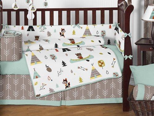 Sweet Jojo Designs Outdoor Adventure Nature Crib Bedding