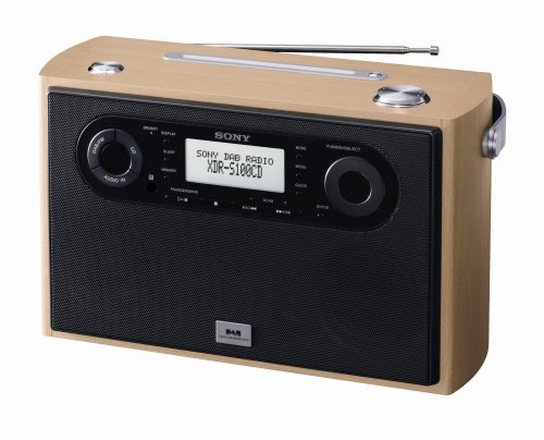 Sony XDR-S100CDM Premium DAB Radio with CD Player