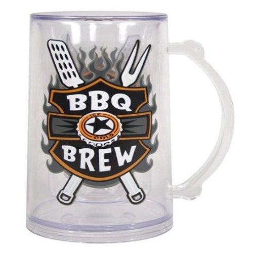 "Grillin' & Chillin' ""Bbq Brew"" Acrylic Tankard"