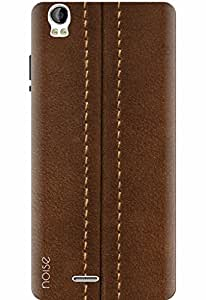 Noise Designer Phone Case / Cover for Intex Aqua Speed HD / Patterns & Ethnic / Brown Zipper Print Design