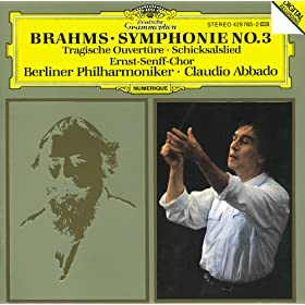 Brahms: Symphony No.3; Tragic Overture; Song of Destiny