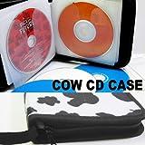 CD DVD ブルーレイも!24枚収納OK・COW CD CASE・CDケース