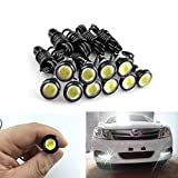 XT AUTO 6500K Xenon White 9W LED Eagle Eye Lamps Back Up Backup Reverse Parking Light For Car Van SUV Coupe Sedan 10-pack