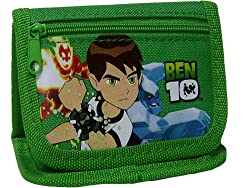 New Ben 10 Green Wallet and Stickers