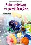 echange, troc Jean-Joseph Julaud - Petite anthologie de la poésie française