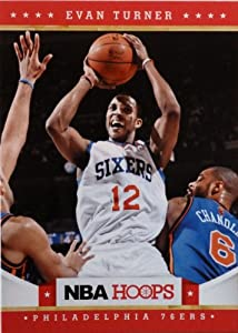 2012-13 Panini Hoops #27 Evan Turner Trading Card in a Protective Case - Philadelphia... by Hoops