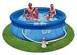 """INTEX 10' x 30"""" Easy Set Swimming Pool w/ 530 GPH Pump"""
