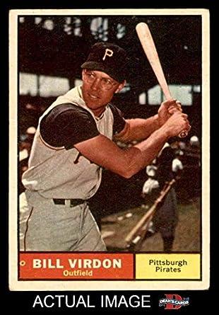 1961 Topps # 70 Bill Virdon Pittsburgh Pirates (Baseball Card) Dean's