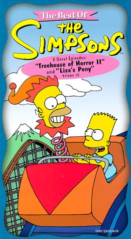 The best of the simpsons vol 12 treehouse of horror 2 lisas pony
