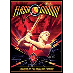 DVD Cover for Flash Gordon