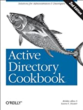 Active Directory Cookbook by Svidergol