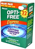 Alcon Optifree Express Value Pack 32 Oz with Free Lens Case