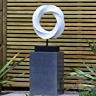 Modern Eternal Abstract Garden Sculpture - Large Statues