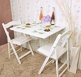 Wandklapptisch, Küchentisch, Klapptisch, Esstisch aus Holz,...
