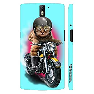 Oppo Find 7 Cat Coolio designer mobile hard shell case by Enthopia
