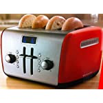 KitchenAid KMT422ER 4 Slice Toaster – Empire Red