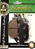 Triumph TT 600 Rear Brake Pads 2000 to 2003