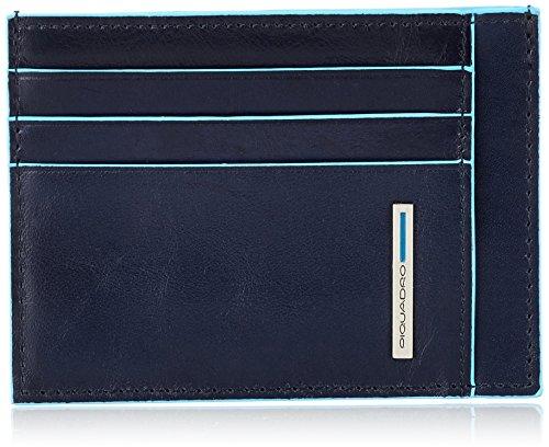 Piquadro PP2762B2 Bustina- Collezione Blu Square, Blu
