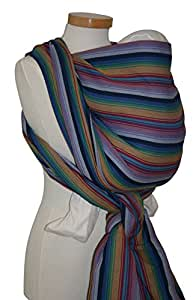 Storchenwiege Woven Cotton Baby Carrier Wrap (4.1, Inka)
