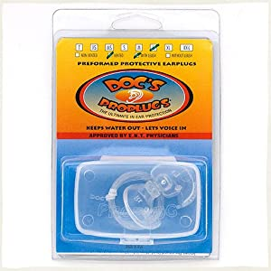 Buy Docs's Pro Plugs Surfing Swimming Vented Ear Plugs - Select Size by Block Surf