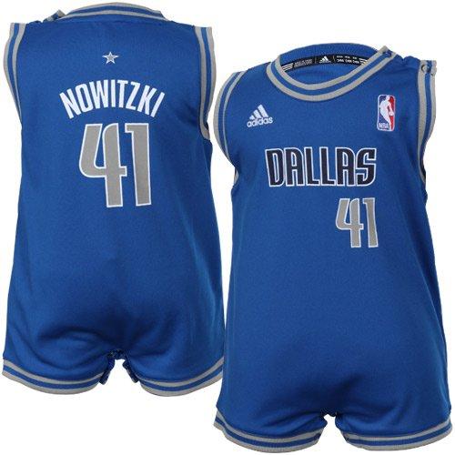 official photos 25506 dc8bf NBA Infant Dallas Mavericks Dirk Nowitzki Onesie Road Jersey ...