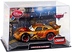 unknown Disney / Pixar CARS Movie Exclusive 1:48 Die Cast Car In Plastic Case Golden Lightning McQueen at Sears.com