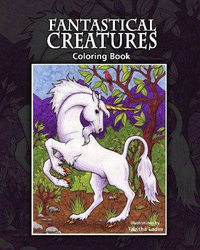 Fantastical Creatures: Coloring Book PDF