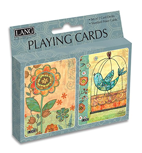 Lang Gypsy Garden Playing Cards by Wendy Bentley (Set of 2) - 1