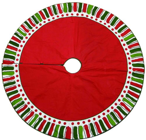 "M. Bagwell 54"" Cotton Christmas Tree Skirt"