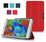 ProCase SlimSnug Cover Case for Samsung Galaxy Tab 4 7.0 Tablet 2014 ( 7 inch Tab 4, SM-T230 / T231 / T235) (Red)