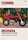 img - for Clymer Honda Xr50R & Xr70R, 1997-2003 (Clymer Motorcycle Repair) by Clymer Publications, Morlan, Michael (2003) Paperback book / textbook / text book