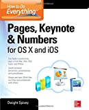 img - for How to Do Everything: Pages, Keynote & Numbers for OS X and iOS book / textbook / text book