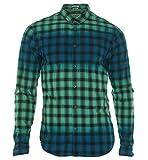 Guess Men's Long Sleeve Tidal Check Shirt