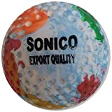 Sonico hockey TURF ball multicolour(box of 6 balls)