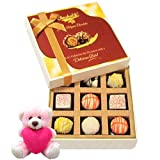 Valentine Chocholik Premium Gifts - Beautiful & Enjoyable Treat Of White Chocolates With Teddy