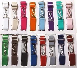 Adjustable elasticated boys belt and girls belt - Pink