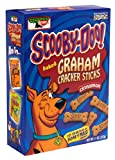 Scooby-Doo! Baked Graham Cracker Sticks, Cinnamon, 11-Ounce Boxes (Pack of 6)