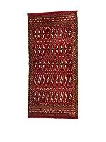 Eden Carpets Alfombra Yamut Rojo 135 x 60 cm
