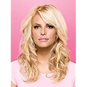 "20"" Styleable Soft Waves Hair Extensions by Jessica Simpson hairdo"