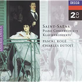 Saint-Saëns: Piano Concertos Nos. 1-5 (2 CDs)