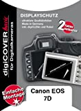 DigiCover A2283 Protection d'�cran pour Canon EOS 7D