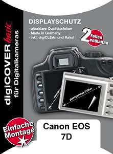 DigiCover A2283 Protection d'écran pour Canon EOS 7D